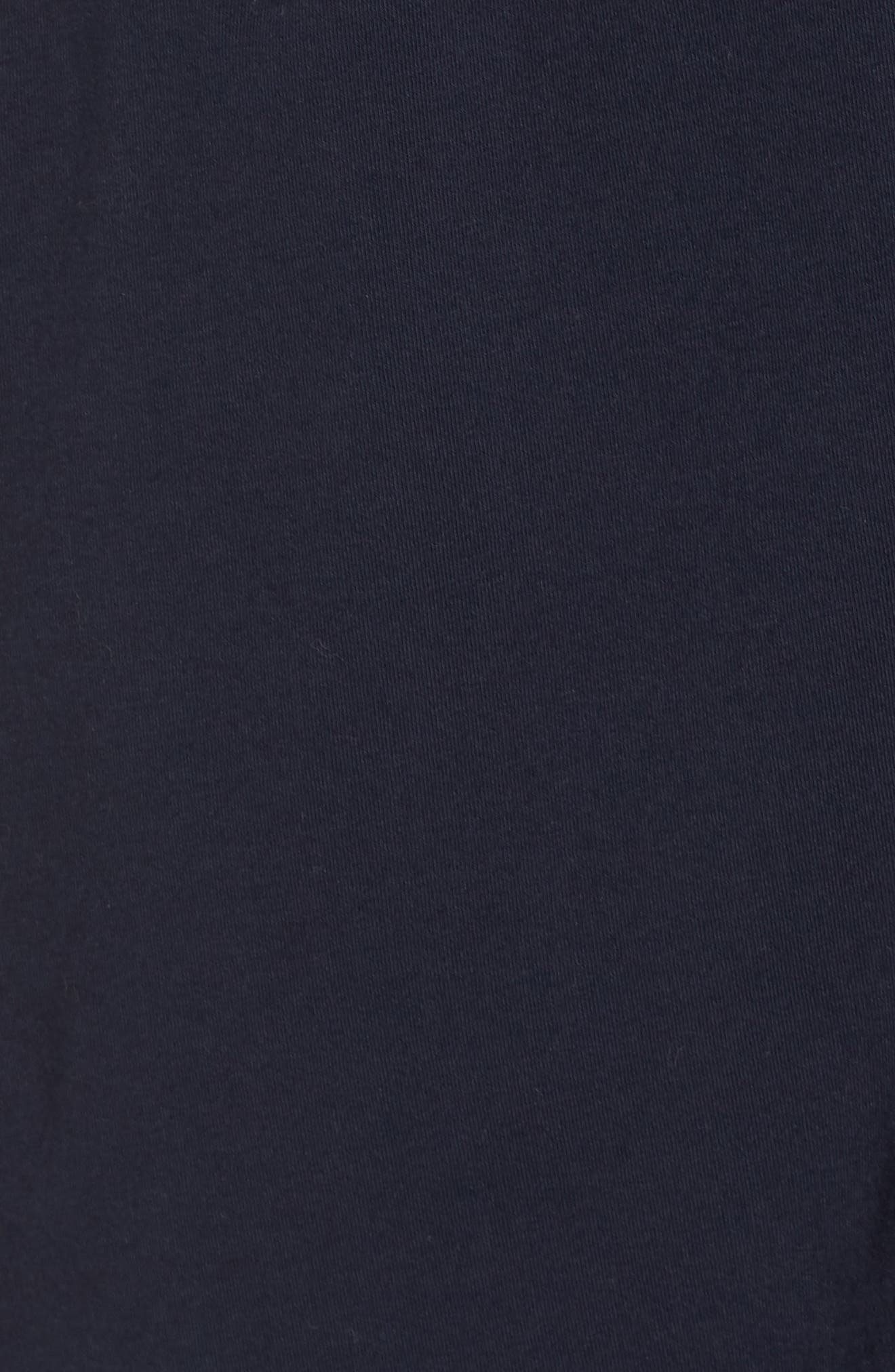 Cotton Robe,                             Alternate thumbnail 5, color,                             Navy