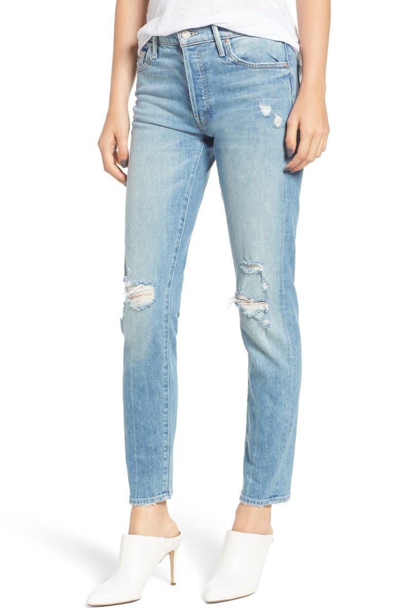 The Stinger Flood Slim Straight Leg Jeans