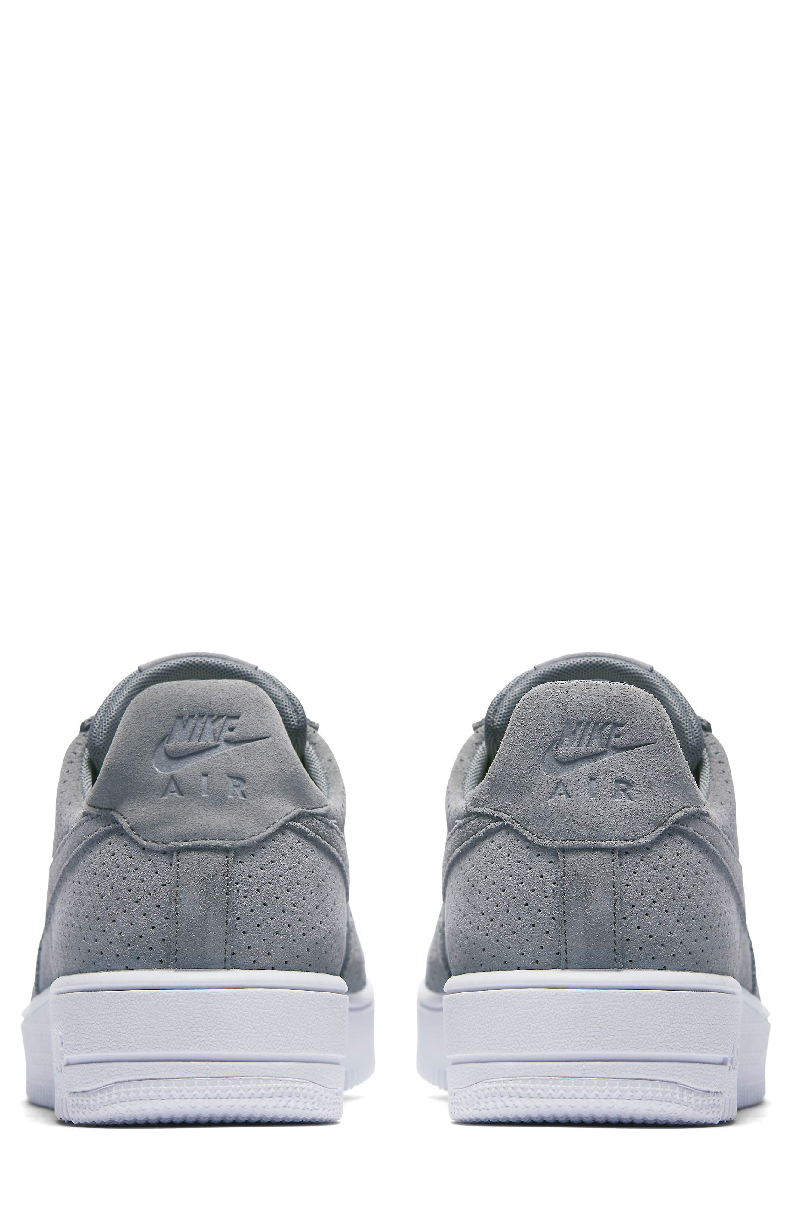 Air Force 1 Ultraforce Sneaker,                             Alternate thumbnail 4, color,                             Cool Grey/ White