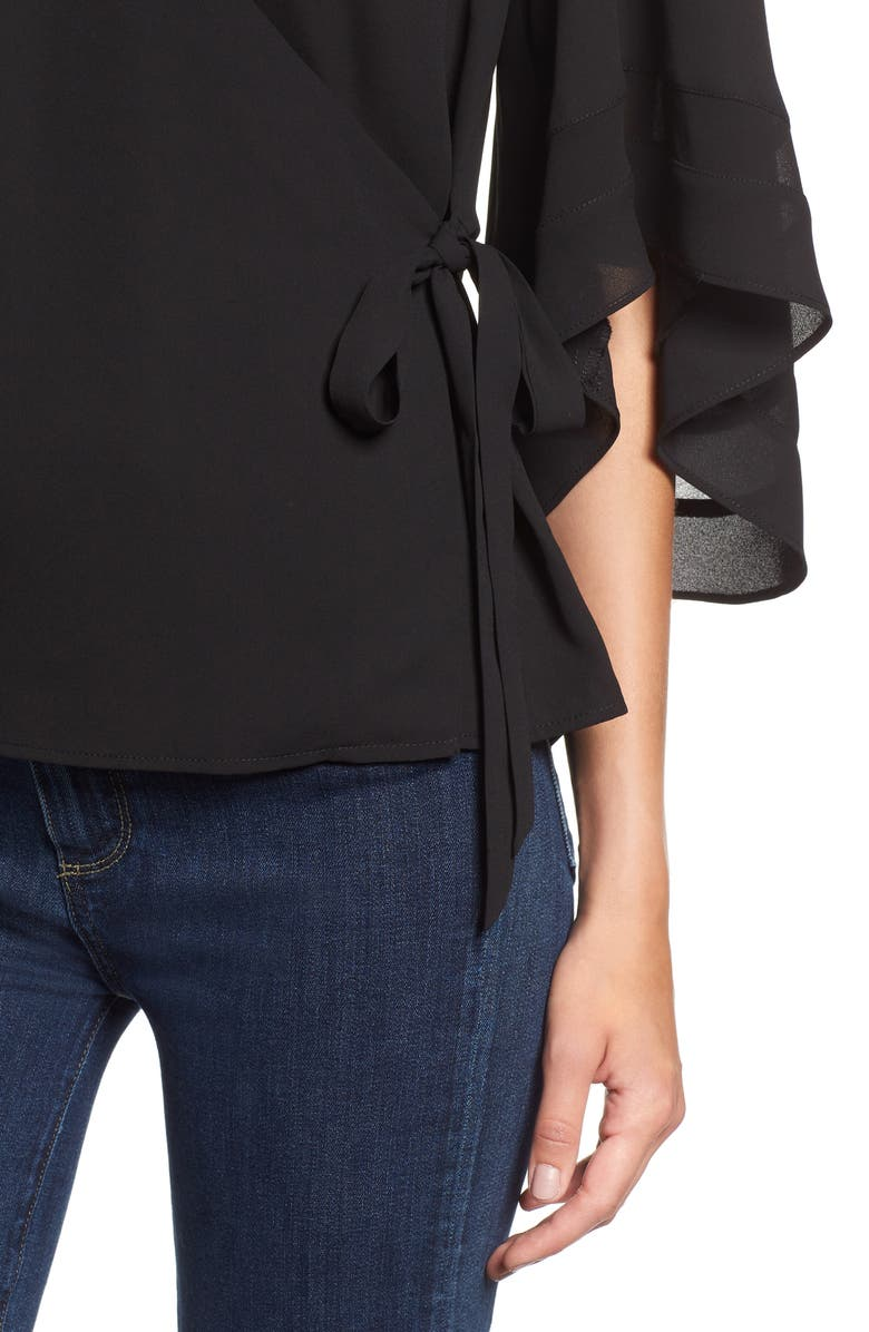 Chic Wrap Top | Nordstrom