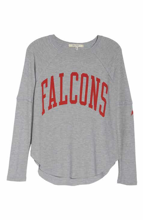 Womens grey tops blouses tees nordstrom junk food nfl thermal tee publicscrutiny Choice Image