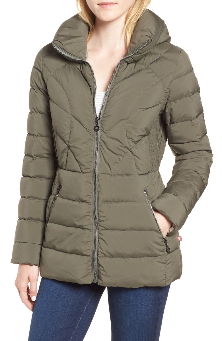 Microtouch Pillow Down  Feather Fill Jacket
