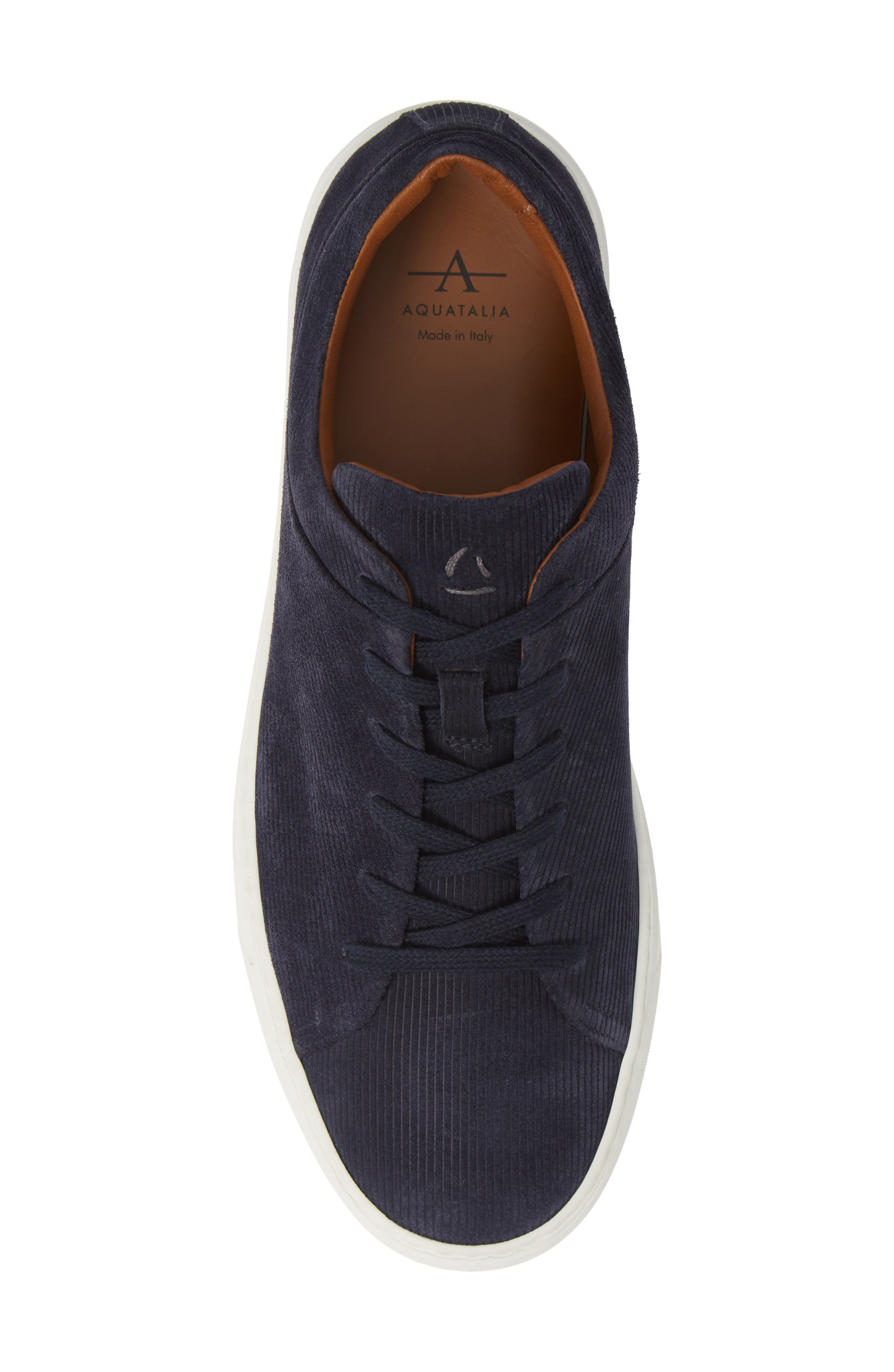 Alaric Sneaker,                             Alternate thumbnail 5, color,                             Navy Suede