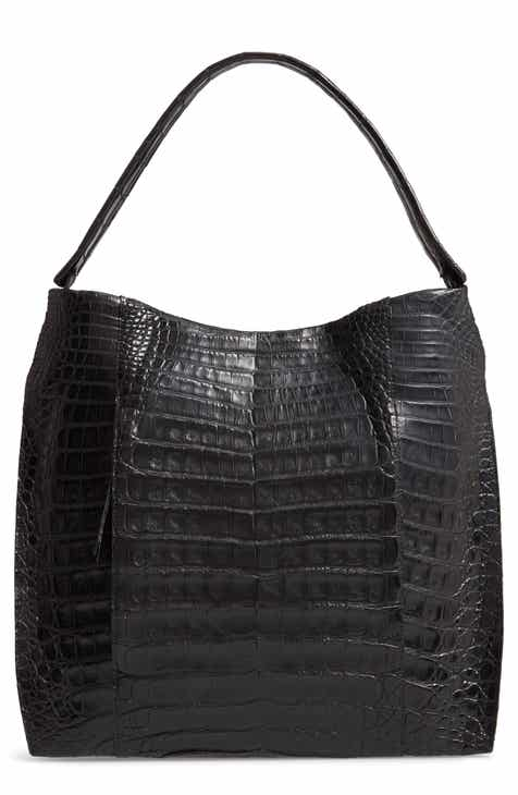 Nancy Gonzalez Genuine Crocodile Hobo