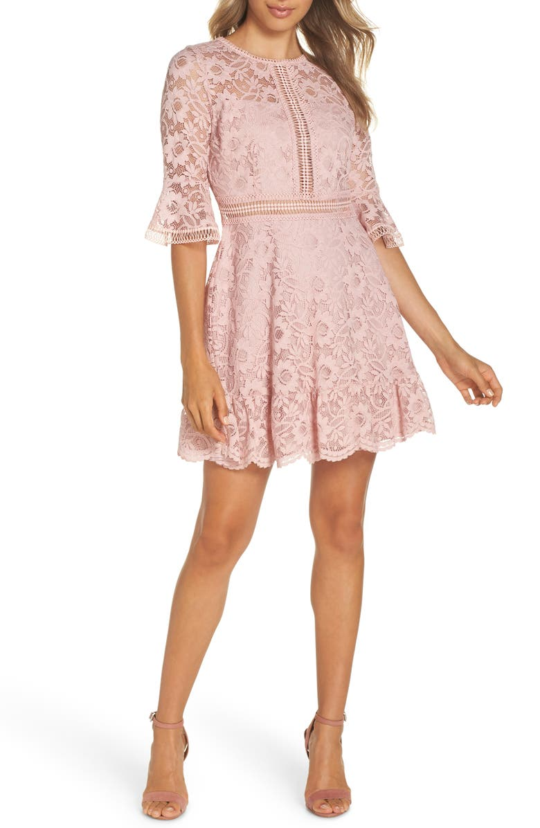 Love on Top Floral Lace Dress