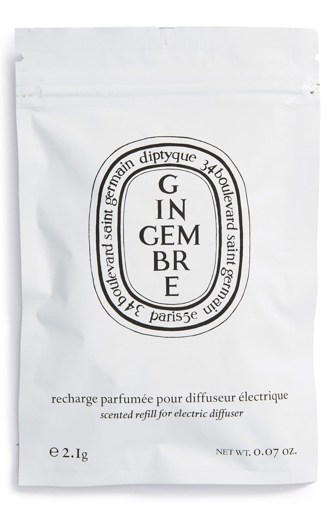 Alternate Image 2  - diptyque 'Ginger' Electric Diffuser Cartridge