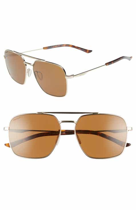 77f8f1c964 Smith Double Down 58mm ChromaPop™ Polarized Navigator Sunglasses