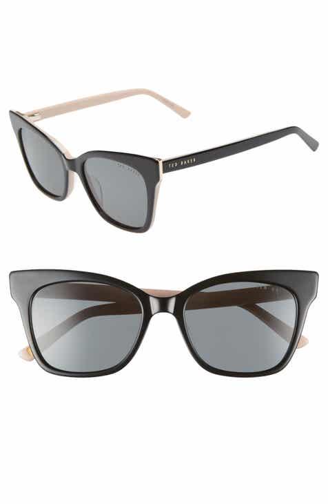1f3fc90bc9 Ted Baker London 53mm Cat Eye Sunglasses