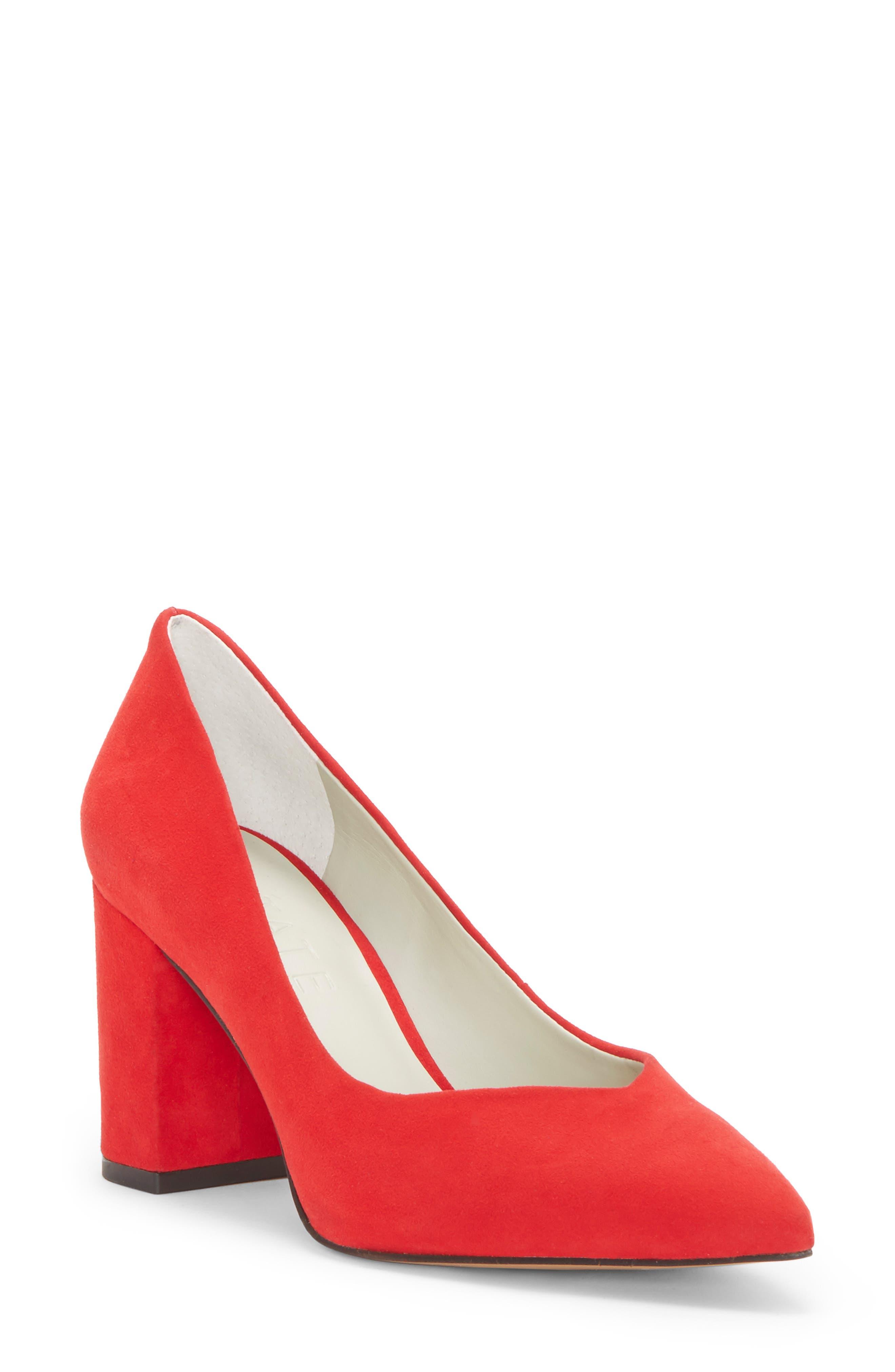 9bf7305fac285 womens bianca di rosso classic heels leather nvd2n3t  state saffy block  heel pump (women)