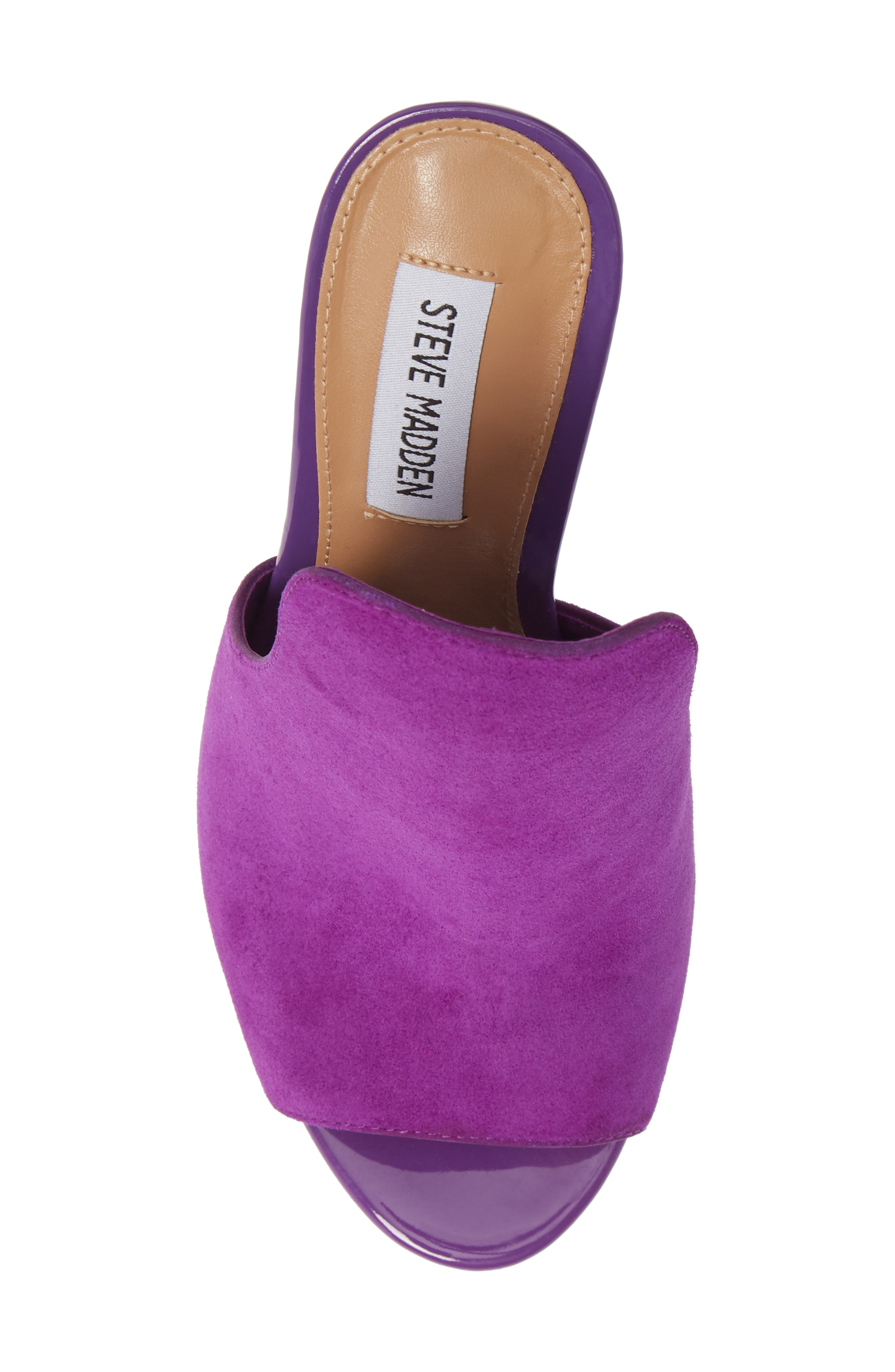Sinful Sandal,                             Alternate thumbnail 5, color,                             Purple Suede
