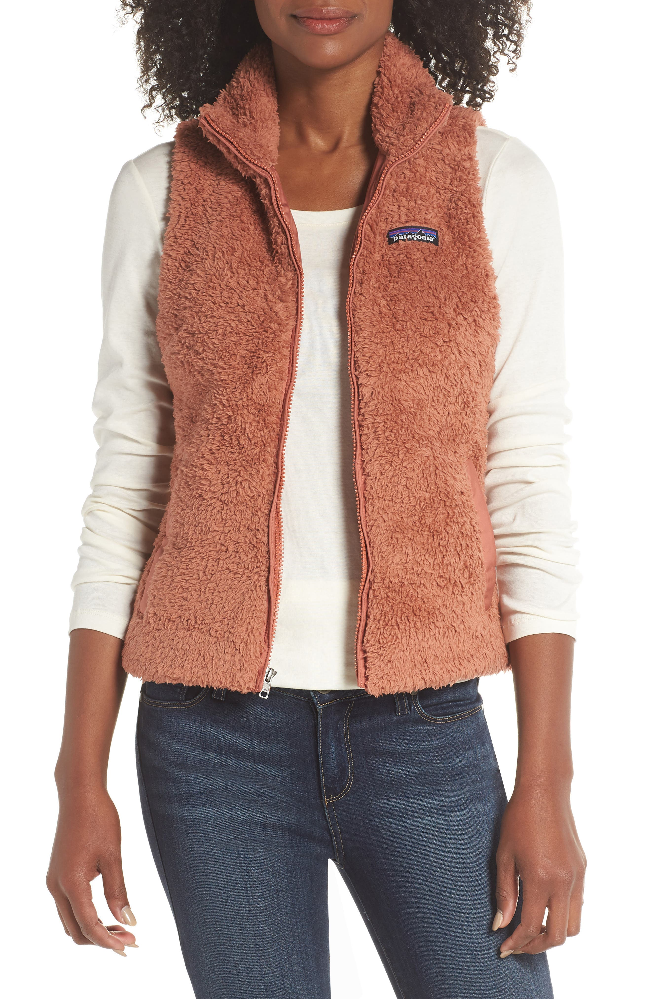 Patagonia fleece zip up jacket