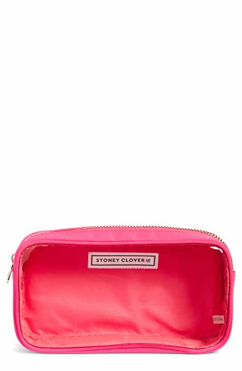 47413327d139 Stoney Clover Lane Classic Clear Small Makeup Bag