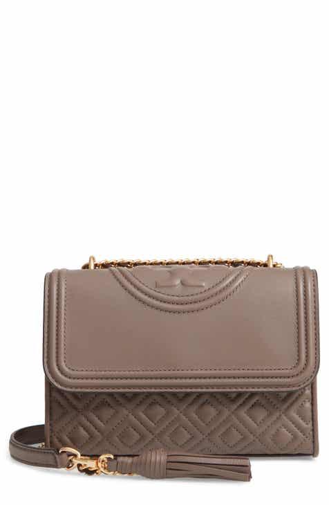 d38e4094291de Tory Burch Small Fleming Leather Convertible Shoulder Bag