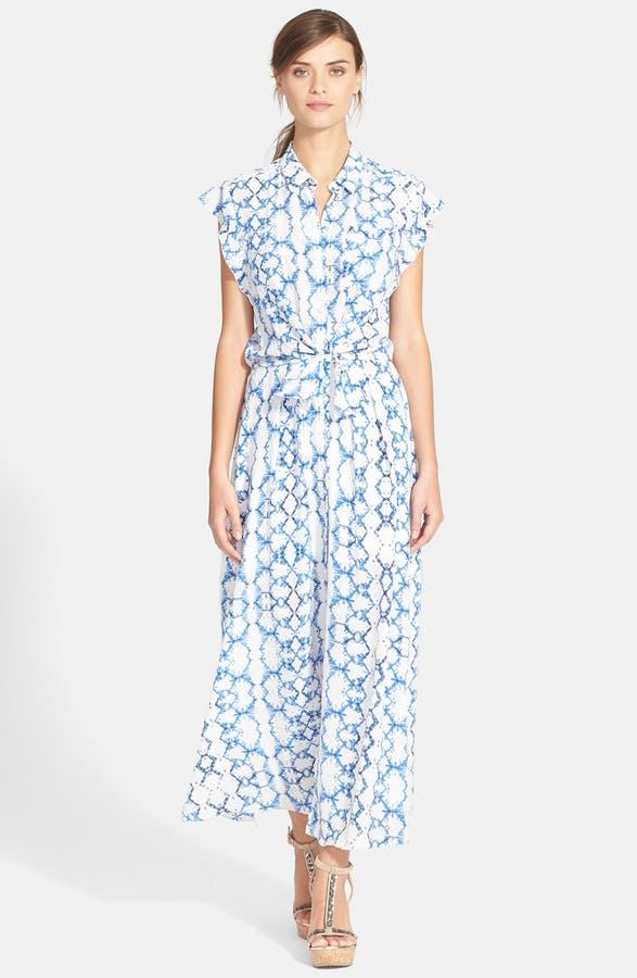 Main Image Rebecca Taylor Tie Dye Silk Maxi Dress