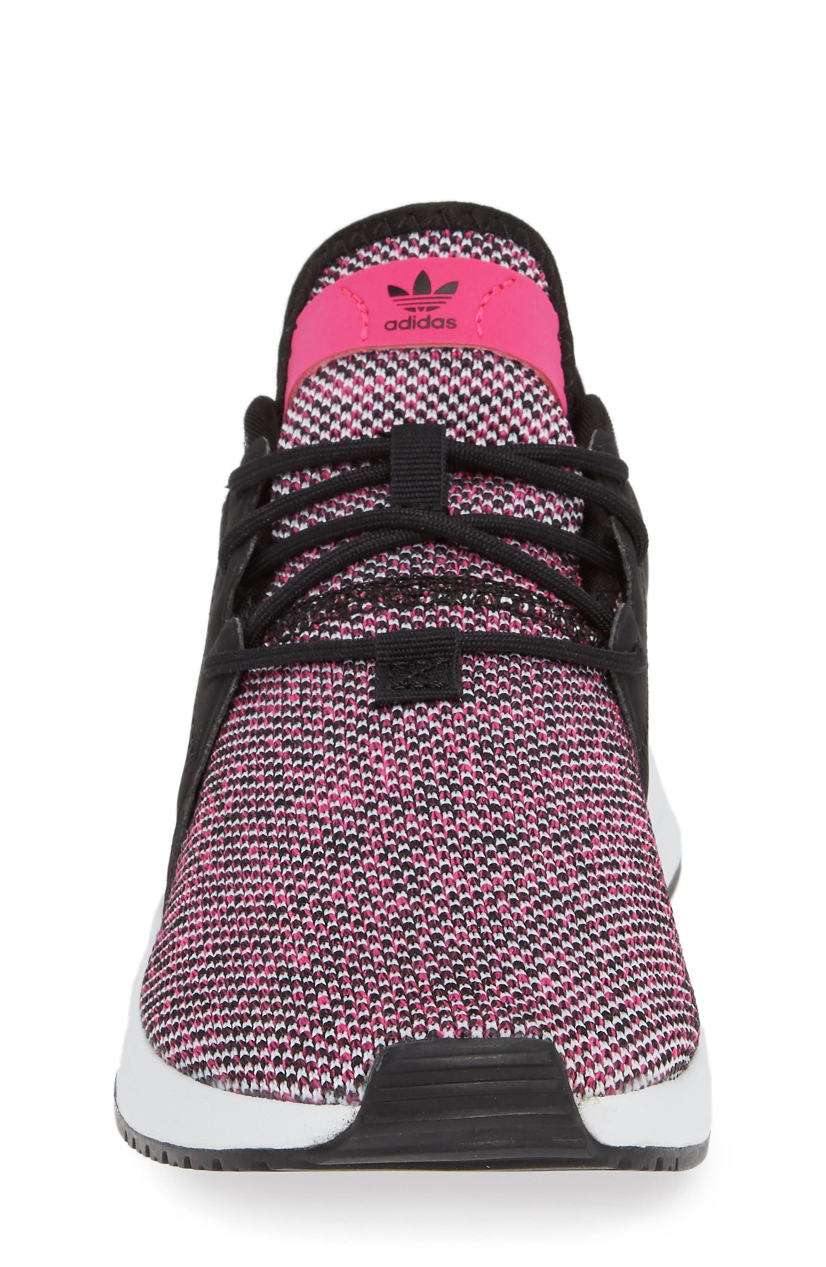 X_PLR Sneaker,                             Alternate thumbnail 6, color,                             Shock Pink/ Black/ White