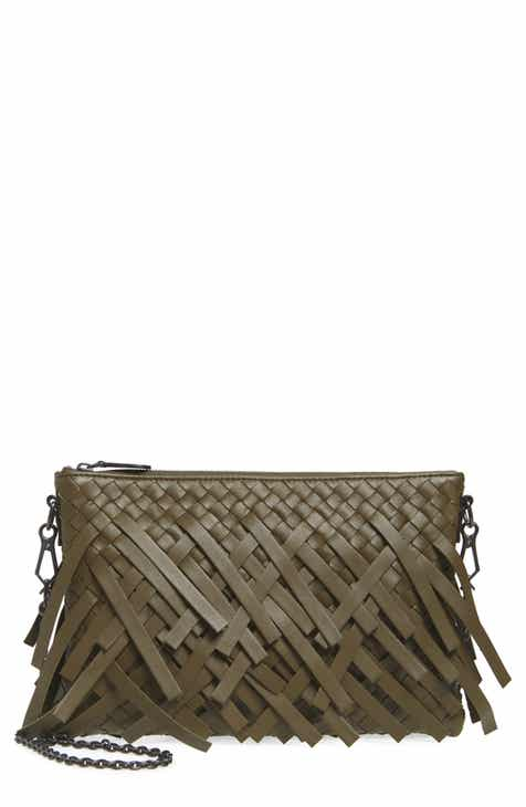 fdd5ab7333 Bottega Veneta Small Intrecciato Leather Crossbody Bag