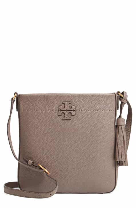 3275e116ad84 Tory Burch McGraw Leather Crossbody Tote