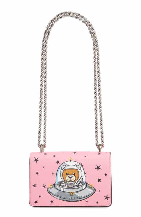 b99bc4460845 Moschino UFO Teddy Shoulder Bag