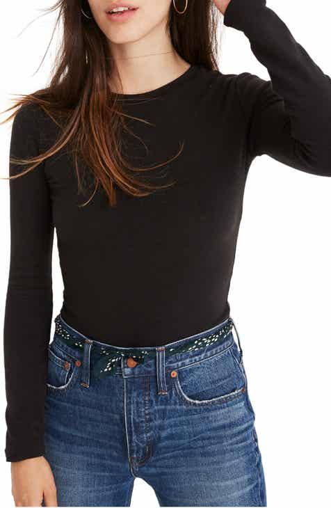 Madewell Crewneck Bodysuit (Regular & Plus Size)