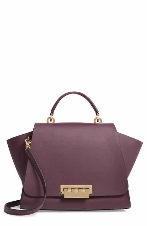 c2de426eefe7 ZAC Zac Posen Eartha Soft Top Handle Leather Satchel