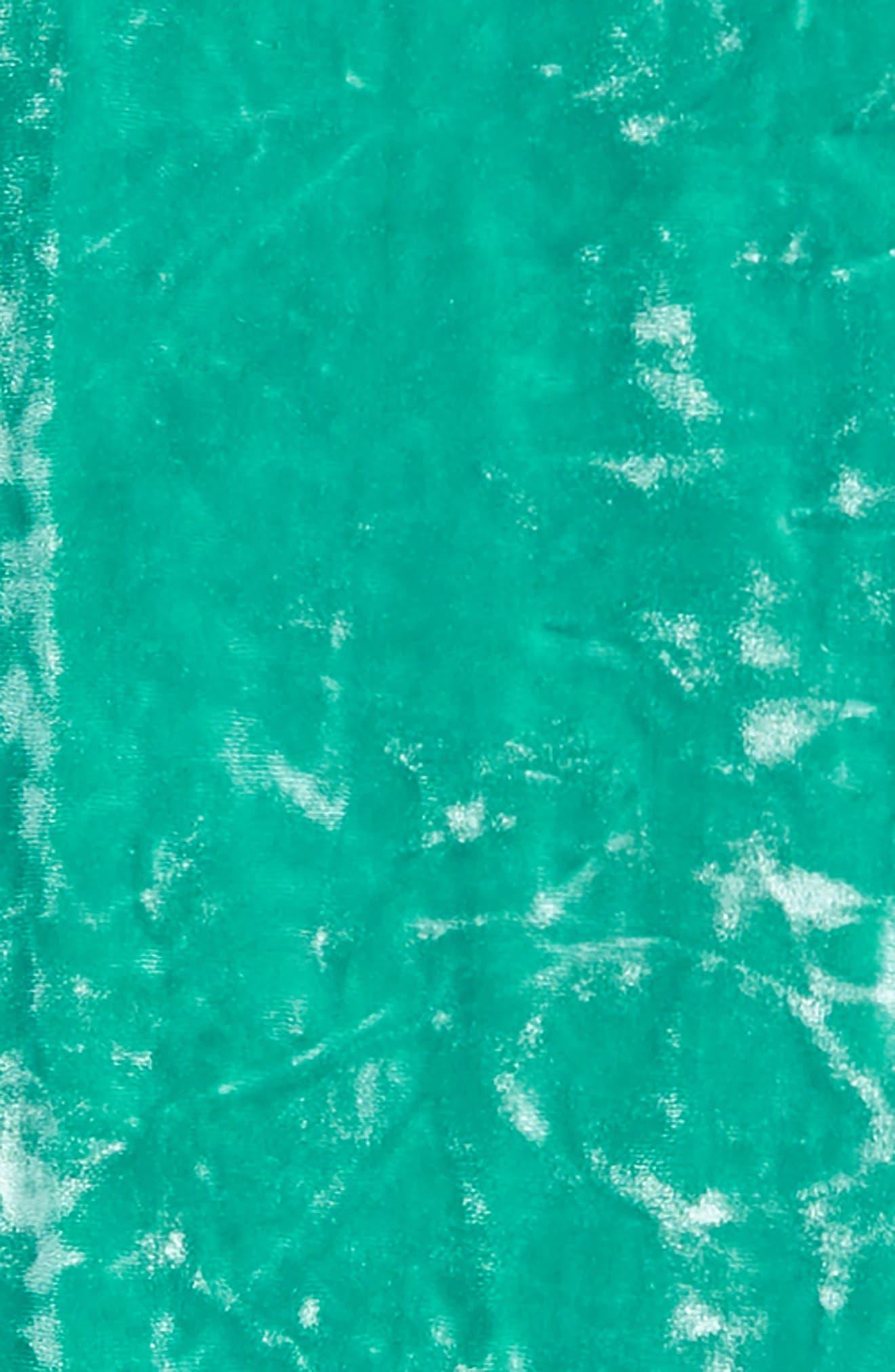 Crushed Velvet Leggings,                             Alternate thumbnail 2, color,                             Emerald Green