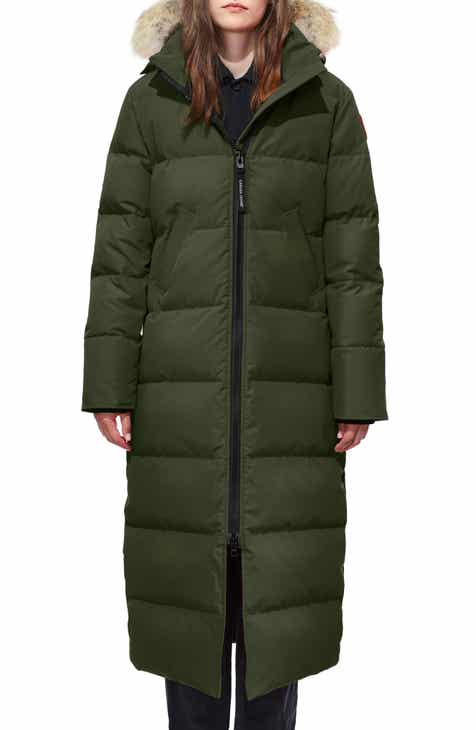 Canada Goose Mystique Regular Fit Down Parka with Genuine Coyote Fur Trim fed44c763dcf