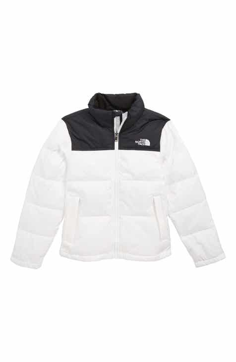 64324f7c69 The North Face Nuptse 700 Fill Power Down Puffer Jacket (Big Girls)