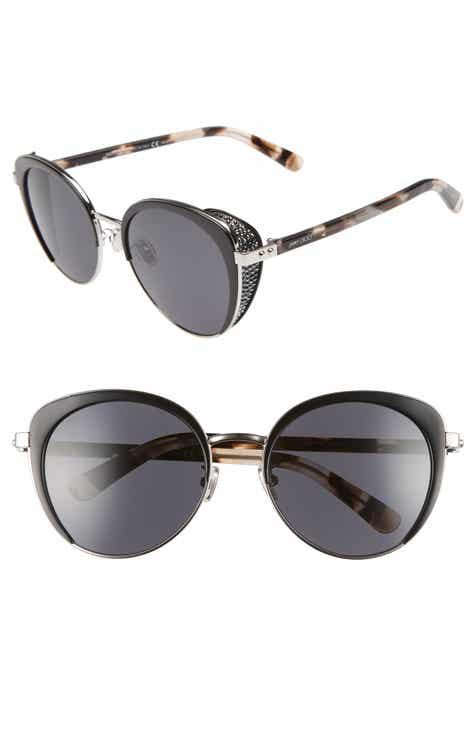 f647e41b8fe Jimmy Choo Gabby 56mm Special Fit Round Sunglasses