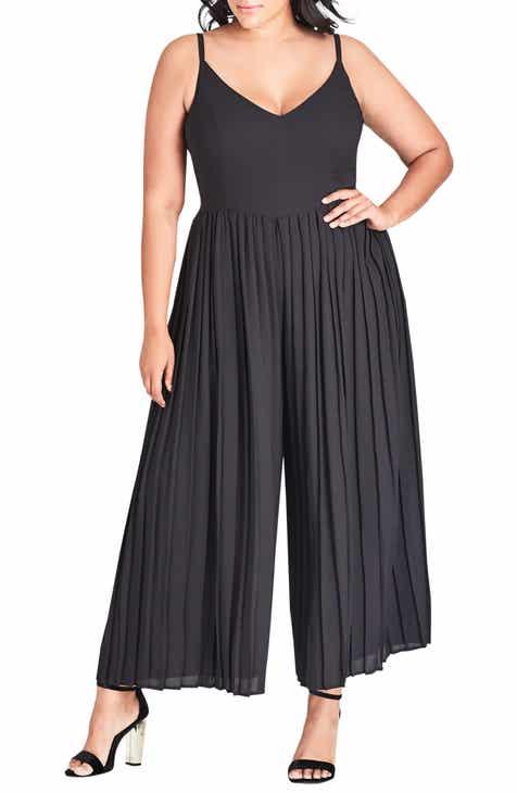 8e7e87550c0 City Chic Flirty Leg Jumpsuit (Plus Size)