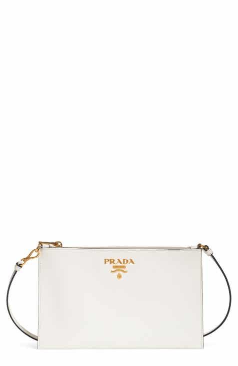 Prada Small Saffiano Leather Shoulder Bag