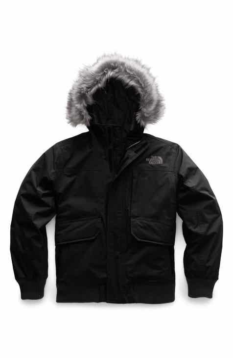 506d6386edcf The North Face Gotham Hooded Waterproof 550-Fill Power Down Jacket (Big Boys )