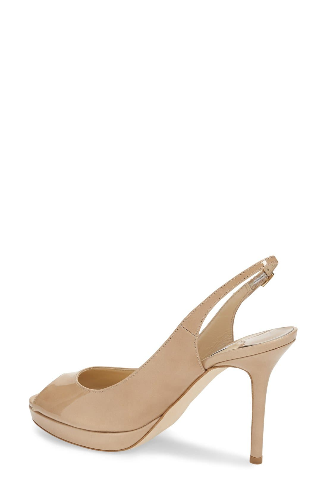 Alternate Image 2  - Jimmy Choo 'Nova' Patent Leather Slingback Pump (Women)