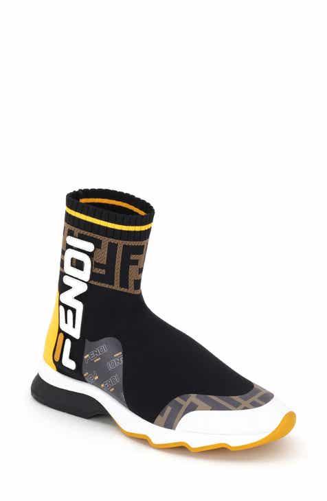 c70e3323aeb Fendi x FILA Mania Logo Sock High Top Sneaker (Women)