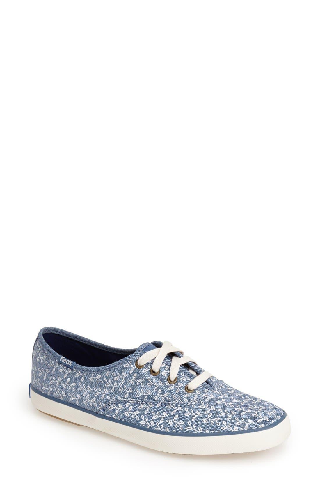 Main Image - Keds® 'Champion - Botanical' Sneaker (Women)
