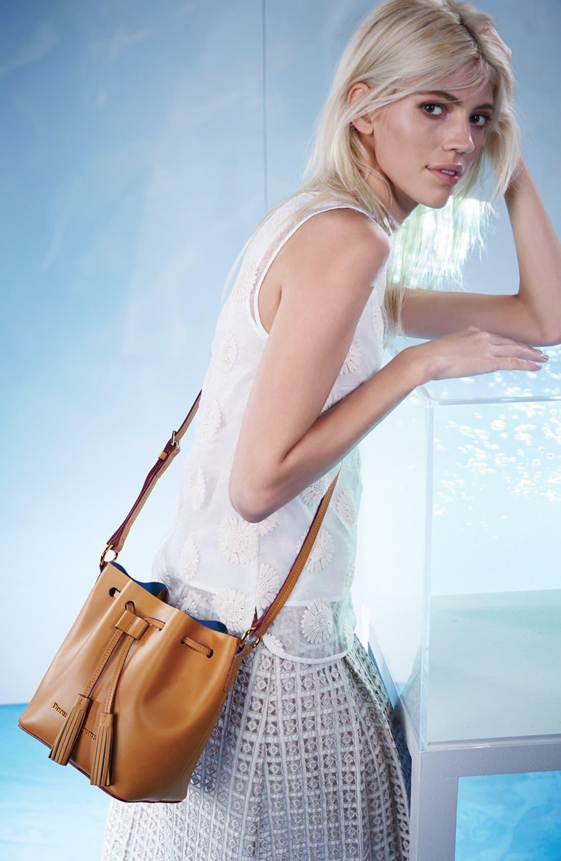 Alternate Image 8  - Dooney & Bourke 'Serena' Leather Bucket Bag