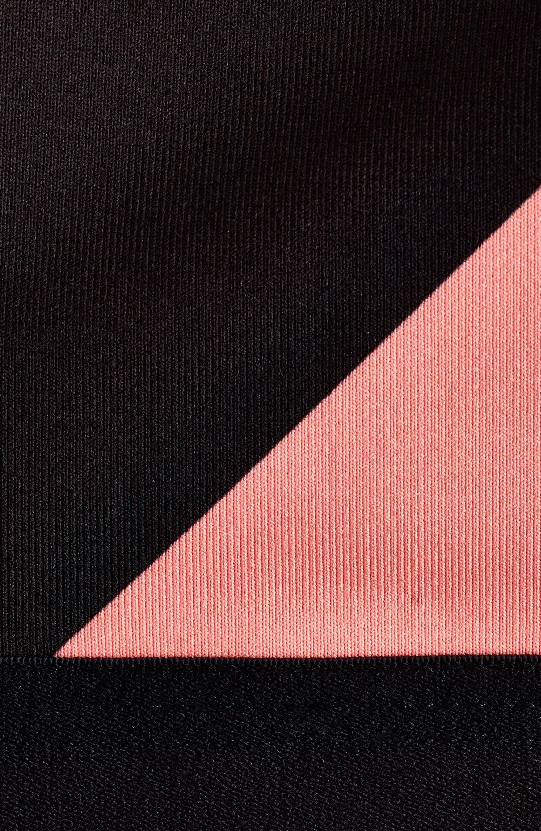 Alternate Image 4  - Nike 'Pro Classic' Diagonal Stripe Padded Dri-FIT Sports Bra