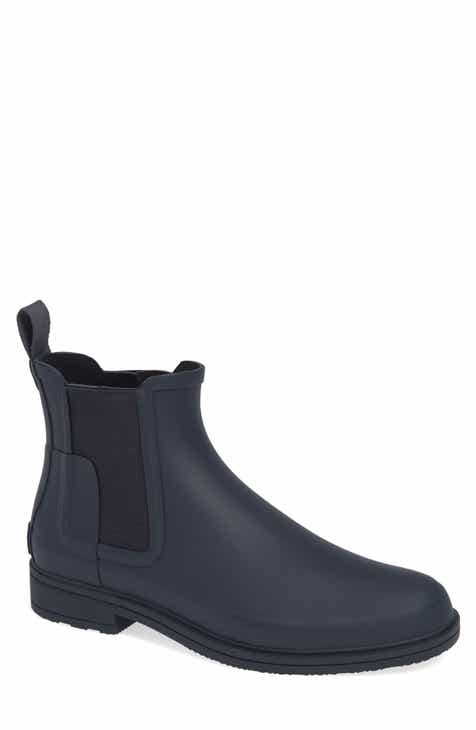 e0310f461b0e Hunter Original Refined Waterproof Chelsea Boot (Men)