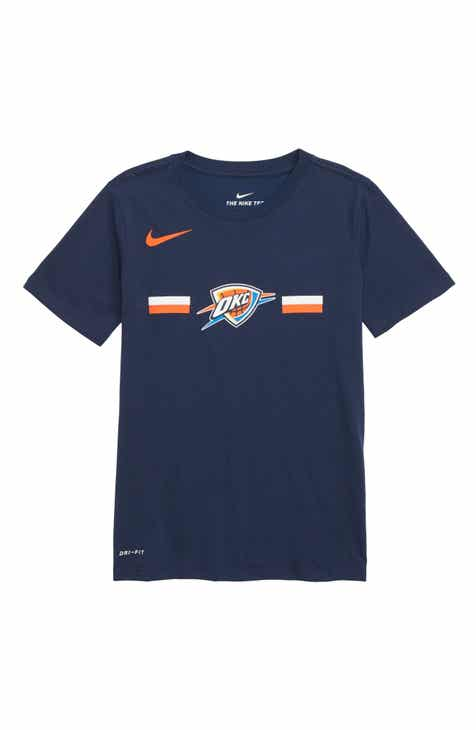 Nike Oklahoma City Thunder Dri-FIT T-Shirt (Big Boys)