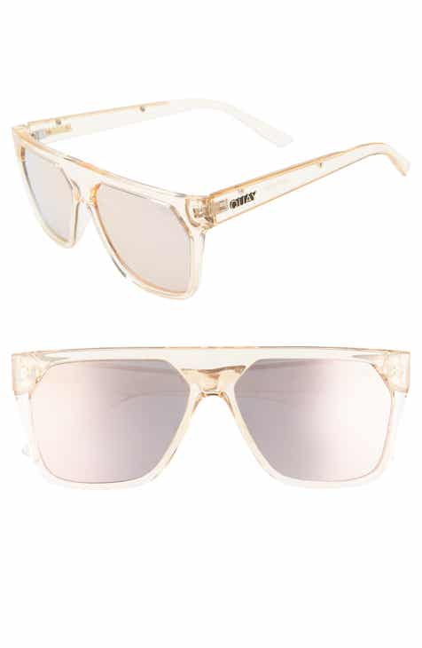 ba12a96ad4f2 Quay Australia x Jaclyn Hill Very Busy 58mm Shield Sunglasses