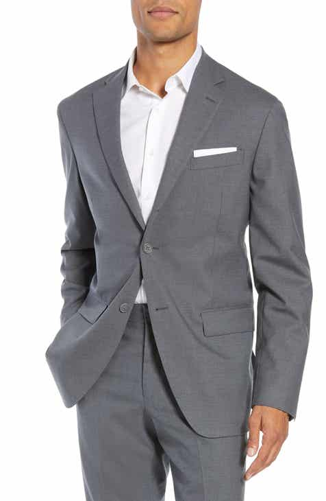 db1004bda8 Nordstrom Men's Shop Tech-Smart Trim Fit Stretch Wool Travel Sport Coat
