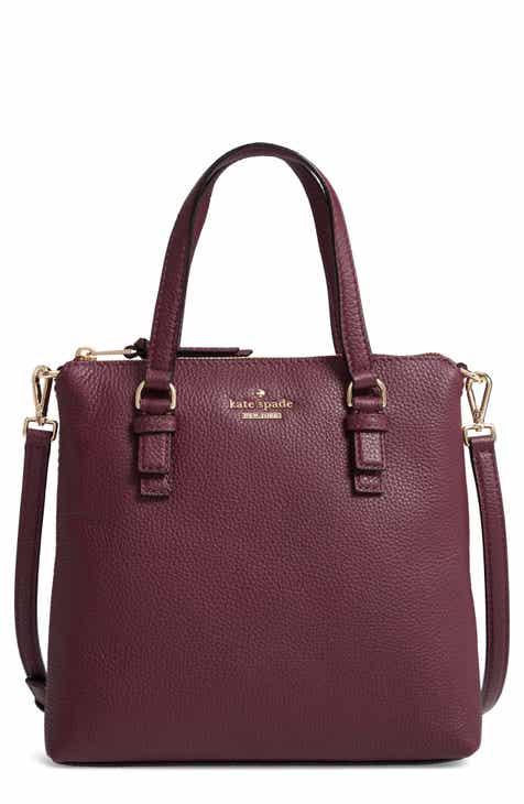 Kate Spade New York Jackson Street Hayley Leather Satchel