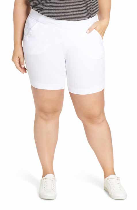 3c50bc1311c Jag Jeans Gracie Stretch Cotton Shorts (Plus Size)