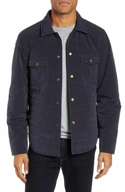 3c67ac4292b7c2 Billy Reid Michael Slim Fit Quilted Shirt Jacket