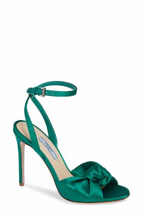 39ff1217df5 Prada Knotted Silk Sandal (Women)