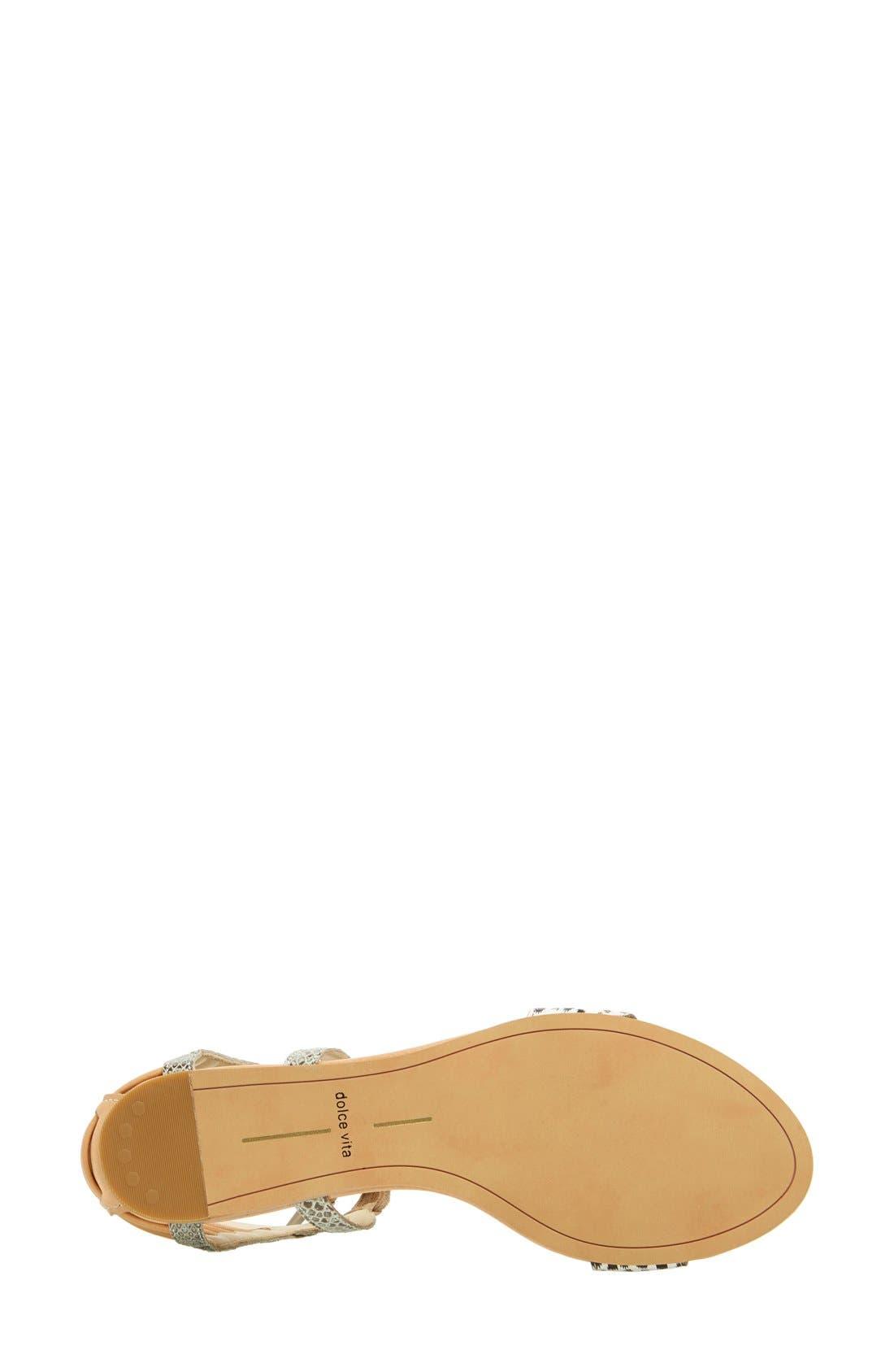 Alternate Image 4  - Dolce Vita 'Ashtyn' Mixed Media Sandal (Women)