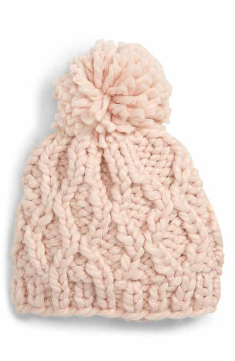 2adcdab8a48fa6 Sole Society Chunky Cable Knit Beanie
