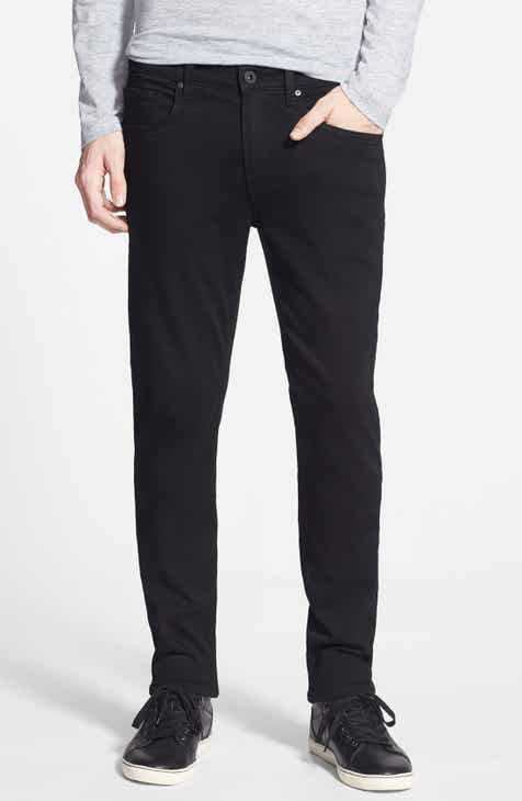 e5f3c7b588fd PAIGE Transcend – Lennox Slim Fit Jeans (Black Shadow)
