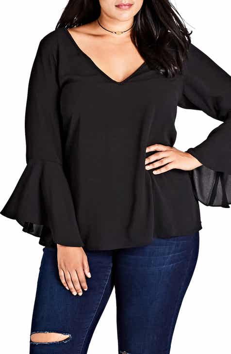 7649bca2c5e9e5 City Chic Women s Tops Plus-Size Clothing