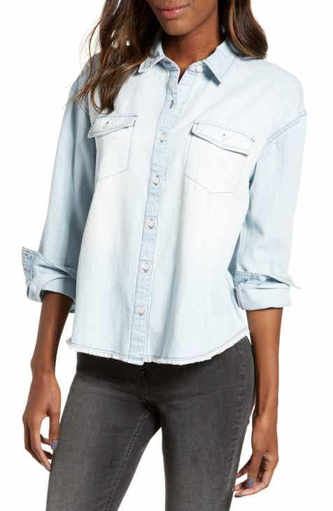 61de3a3e67b Chambray Shirt (Regular   Plus Size)