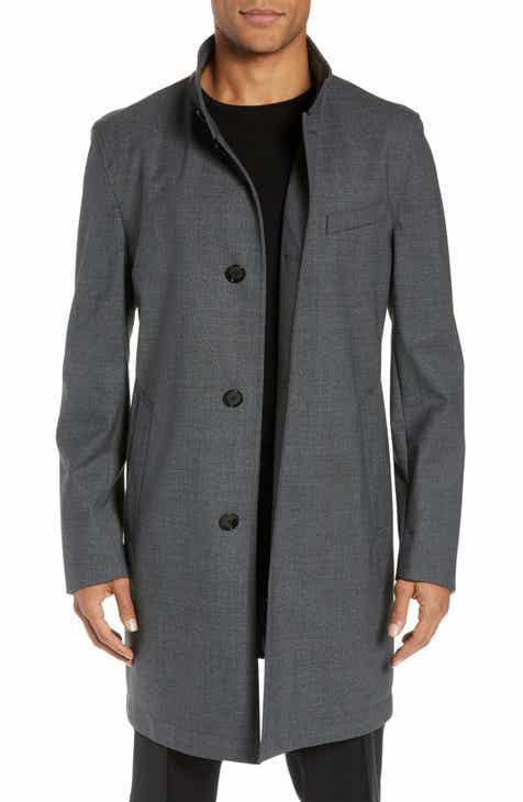 e898b9fa193 Men s Wool   Wool Blend Coats   Jackets